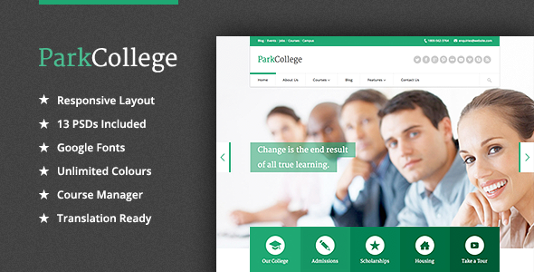 preview-parkcollege-education-theme