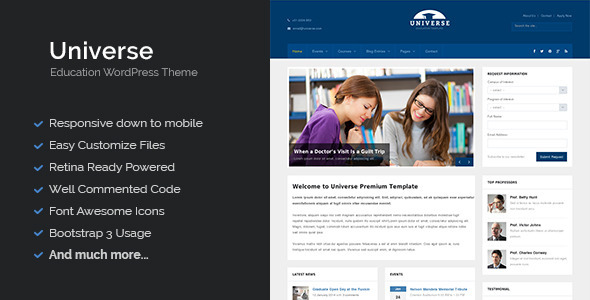 preview-universe-wordpress-theme