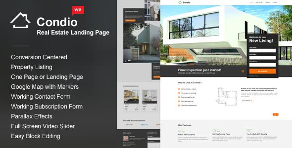 Condio - Real Estate WordPress Themes