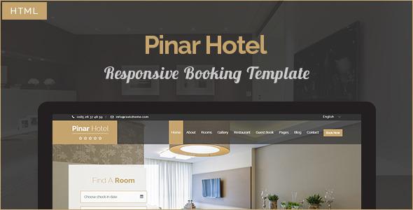 HTML hotel templates
