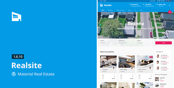 Realsite - Real Estate WordPress Themes