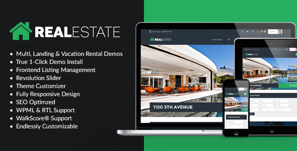 WP Pro Real Estate 7 - Real Estate WordPress Themes