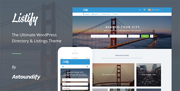 Listify - WordPress directory themes