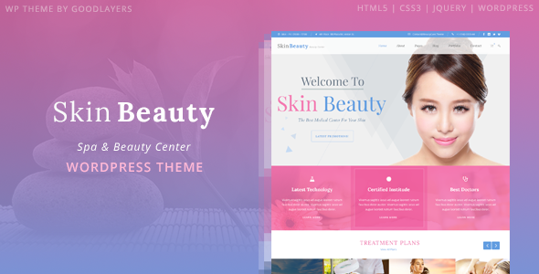Skin beauty - beauty spa themes