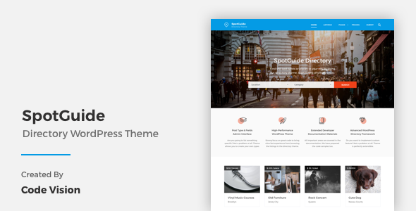 Spotguide - WordPress directory themes