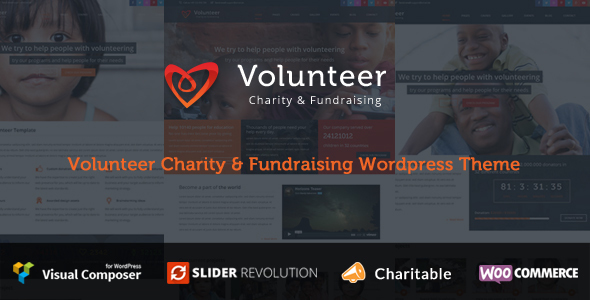 Volunteer - non profit templates