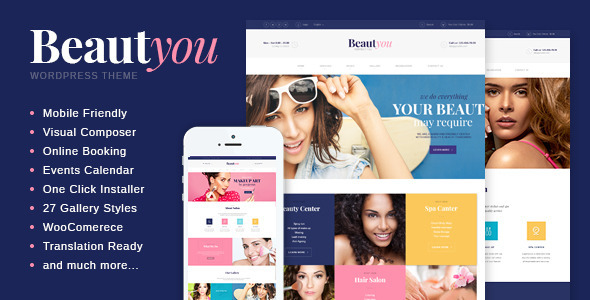 beautyou - beauty spa themes