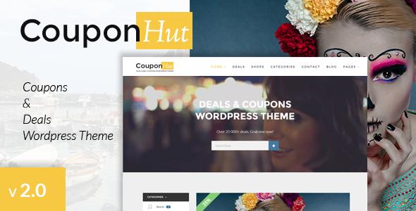 couponhut - WordPress directory themes