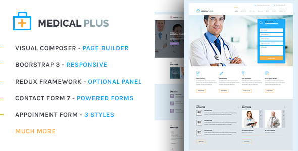 health plus - medical templates