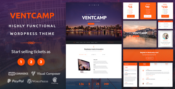 ventcamp - conference & event themes