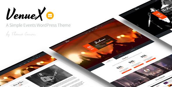 venuex - conference & event themes
