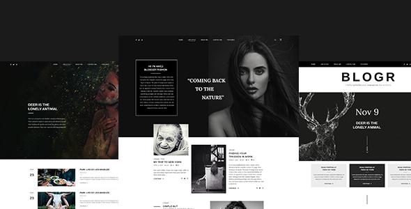 blogr template